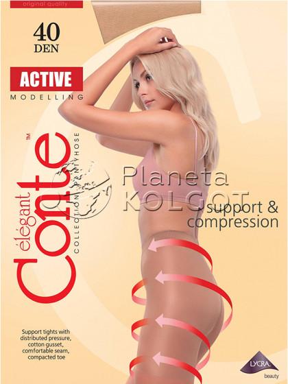 Conte Active 40 Den корректирующие колготки средней плотности