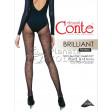 Conte Brilliant женские тонкие нарядные колготки с люрексом