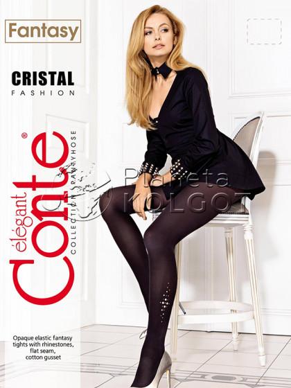 Conte Cristal женские фантазийные колготки со стразами