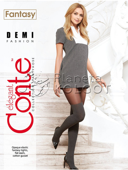 Conte Demi женские колготки с имитацией ботфорт