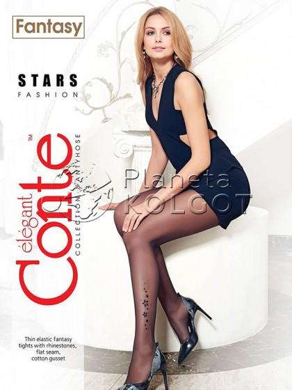 Conte Stars женские фантазийные колготки с имитацией тату