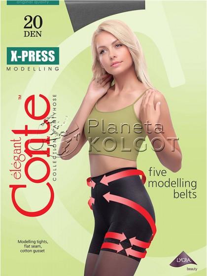 Conte X-Press 20 Den женские тонкие моделирующие колготки