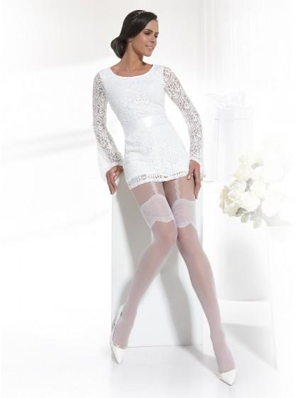 Conte Sensuale колготки для невест с имитацией чулок под пояс