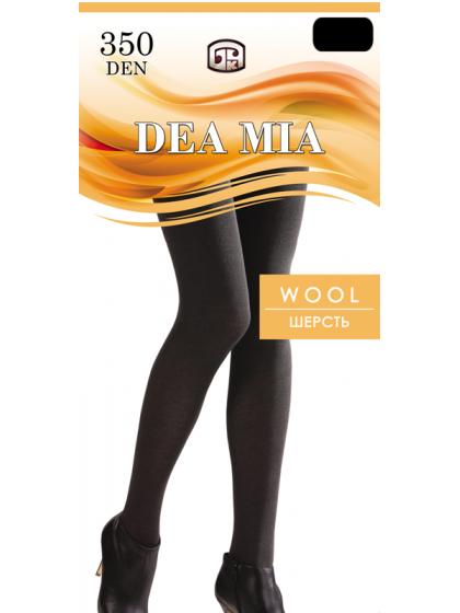 Dea Mia Wool 350 Den классические шерстяные зимние колготки