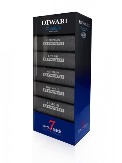 """Diwari Classic 7 дней 5С-08СП 100 классические мужские носки """"неделька"""""""