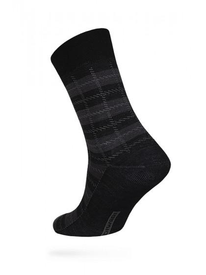 Diwari Comfort 16С-86СП 051 мужские теплые шерстяные носки с рисунком