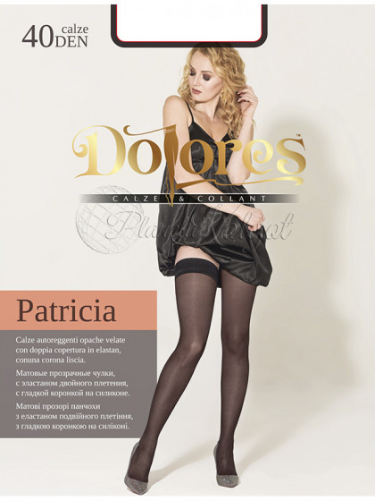 Dolores Patricia 40 Den женские чулки средней плотности