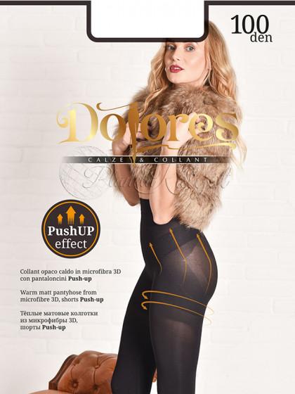 Dolores Push Up Effect 100 Den женские теплые корректирующие колготки