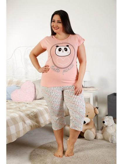 Elitol 17163B женская хлопковая пижама большого размера