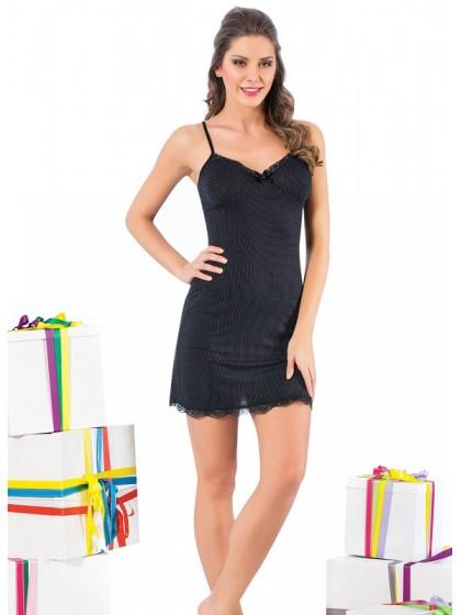 Elitol 11155 женска ночная рубашка из вискозы