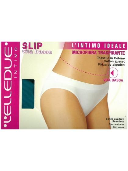 Elledue Slip Vita Bassa женские бесшовные трусики-слипы с низкой талией