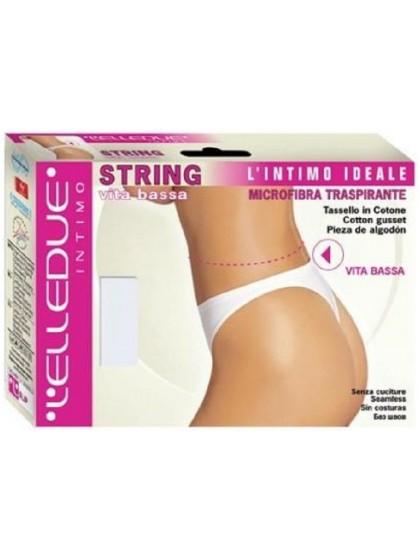 Elledue String Vita Bassa женские бесшовные трусы-стринги