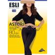 Esli Astori 80 Den теплые женские колготки из микрофибры
