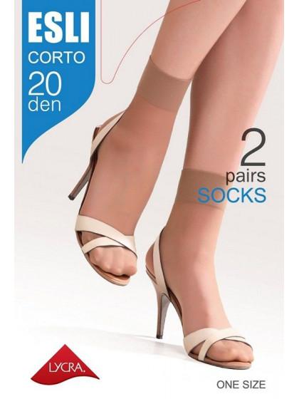 Esli Corto 20 Den женские тонкие капроновые носки