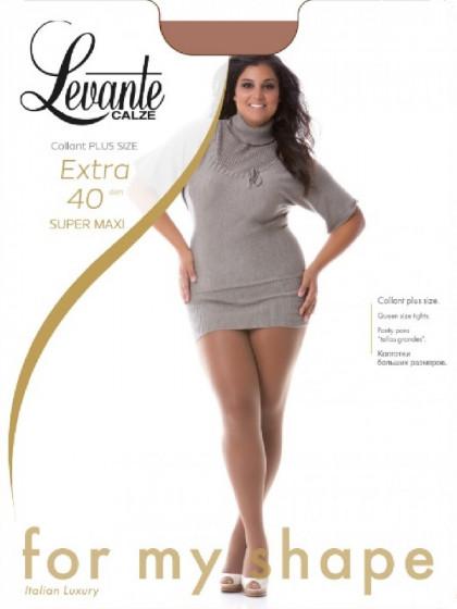 Levante Extra 40 Den Super Maxi женские колготки большого размера