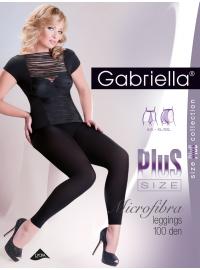 Gabriella Microfibra Leggings Plus Size 100 Den