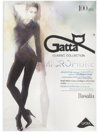 Gatta Rosalia Microfibra 100 Den плотные колготки из микрофибры