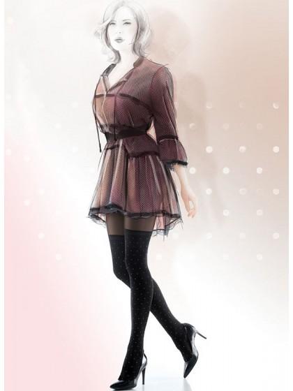 Gatta Girl-Up 24 фантазийные женские колготки с имитацией чулок