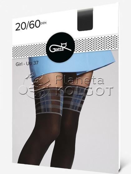 Gatta Girl-Up 37 жіночі колготки з імітацією ботфортів