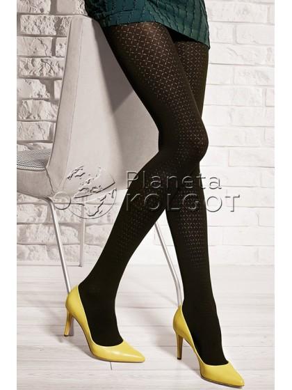 Gatta Loretta 120 женские фантазийные колготки из микрофибры с рисунком без шорт