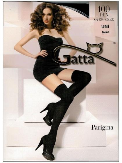Gatta Parigina 100 Den плотные ботфорты из микрофибры