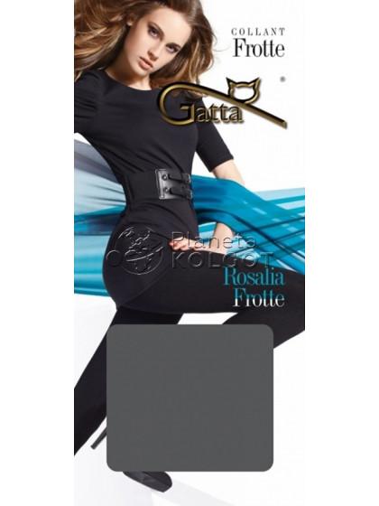 Gatta Rosalia Frotte хлопковые женские классические махровые колготки