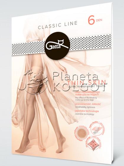 Gatta Thin Skin 6 Den супертонкі жіночі класичні колготки