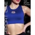 Giulia Top Sport Lacing женский спортивный топ без швов с сетчатыми вставками