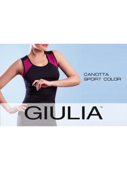 Giulia Canotta Sport Color спортивная женская майка