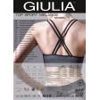 Giulia Top Sport Melange Model 1 спортивный топ с эффектом меланж