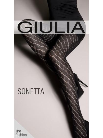 Giulia Sonetta 100 Den Model 2 фантазийные колготки с рисунком