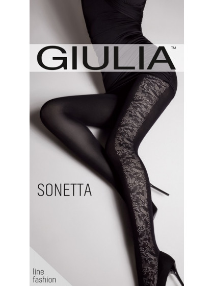 Giulia Sonetta 100 Den Model 10 колготки с фантазийным узором