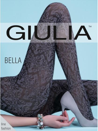 Giulia Bella 80 Den Model 1 колготки из микрофибры с винтажным узором