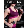 Giulia Top Melange Sport Color спортивный меланжевый топ