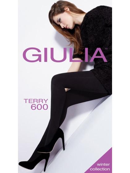 Giulia Terry 600 Den (250 Den) теплые женские махровые колготки