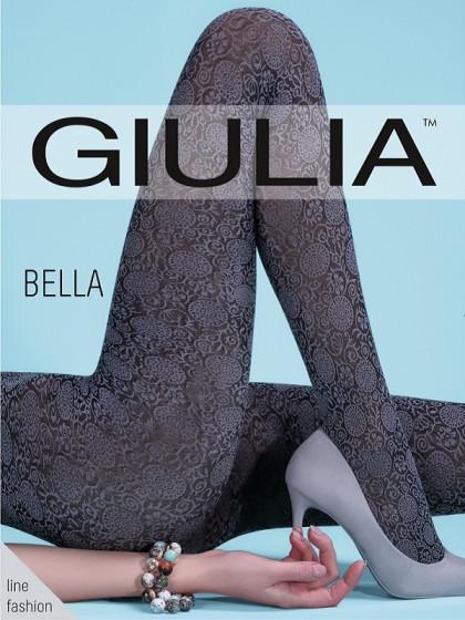 Giulia Bella 80 Den Model 2 колготки из микрофибры c абстрактным узором