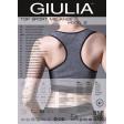 Giulia Top Sport Melange Model 2 спортивный меланжевый топ