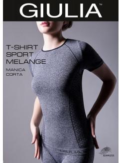 Giulia T-Shirt Manica Corta Sport Melange