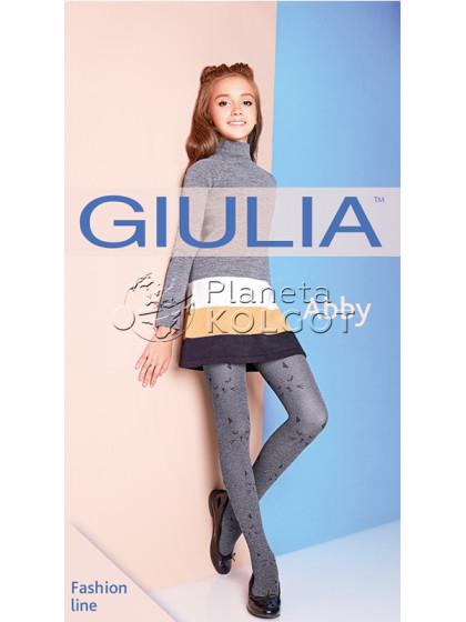 "Giulia Abby 60 Den Model 3 колготки с узором ""мордочки котиков"""