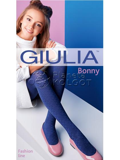 Giulia Bonny 80 Den Model 21 детские узорчатые колготки для девочек