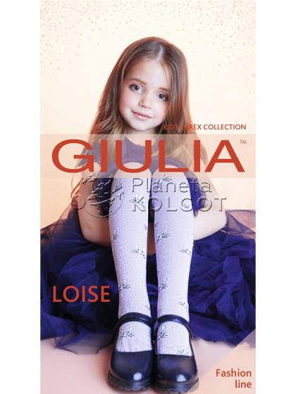 Giulia Loise Model 1 детские хлопковые колготки с узором