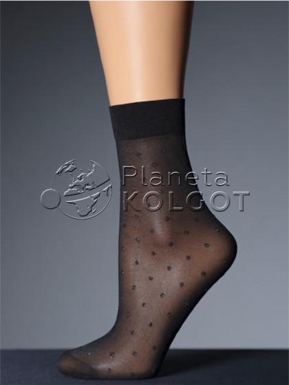 Giulia LN-01 Lurex фантазийные носки средней плотности