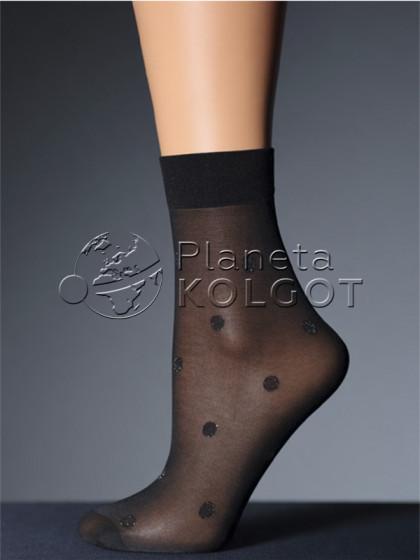 Giulia LN-02 Lurex фантазийные носки средней плотности