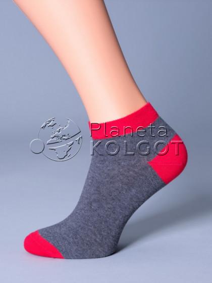 Giulia MSS-002 спортивные носки c контрастной резинкой, мыском и пяткой