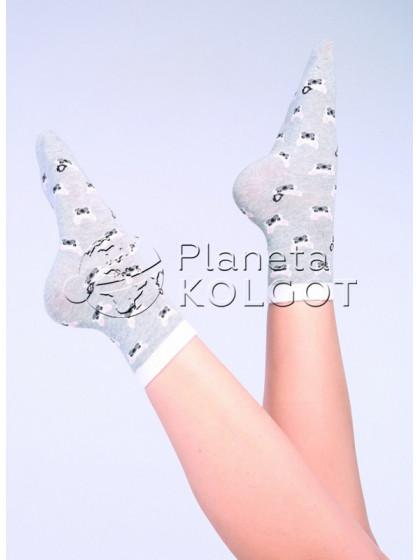 Giulia WS-01 хлопковые носки с принтом