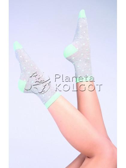 """Giulia WS-04 хлопковые женские носки с узором """"в точку"""""""