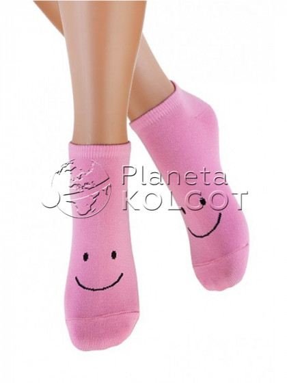 Giulia WSS-003 укороченные носки с принтом