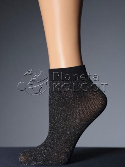 Giulia ZRN-01 Lurex женские сетчатые носки с добавлением люрекса