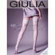 Giulia Airy 20 Den Model 1 фантазийные чулки с имитацией шва в виде цветочного узора