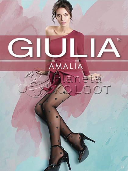 Giulia Amalia 20 Den Model 11 женские тонкие колготки с фантазийным узором